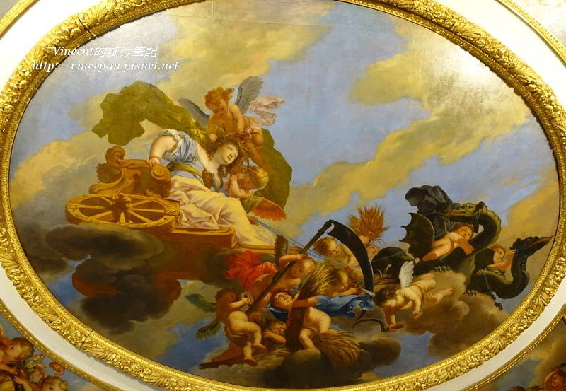 寧芬堡宮 畫