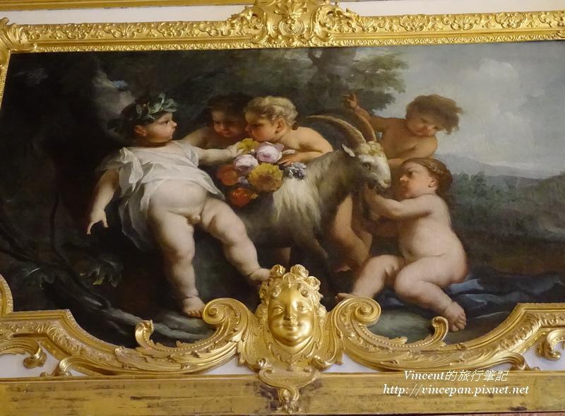 寧芬堡宮 畫 嬰兒