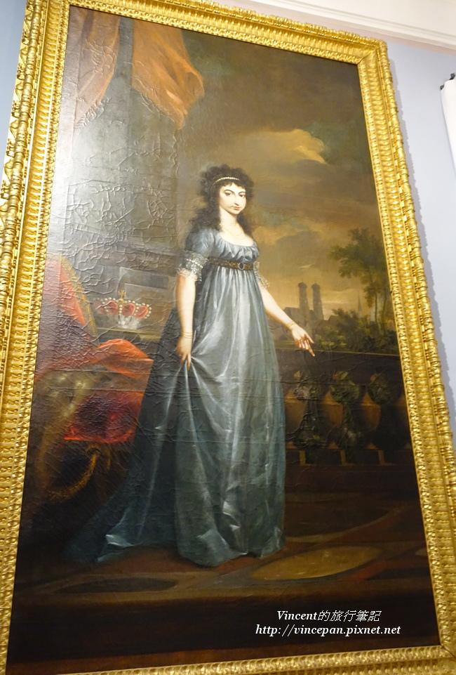 Kurfurstin Maria Leopoldine的畫像