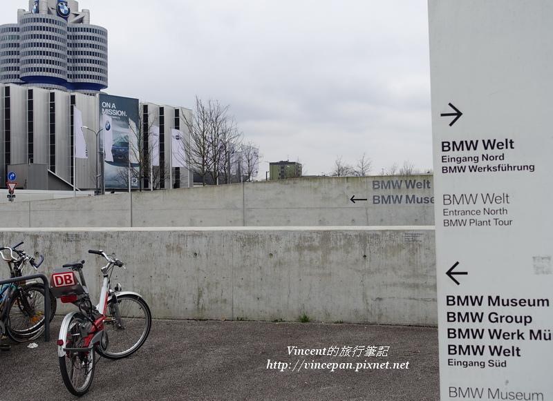 BMW Welt與BMW Museum指標