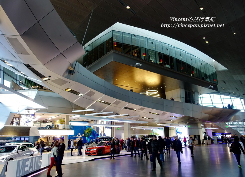 BMW Welt內部空間