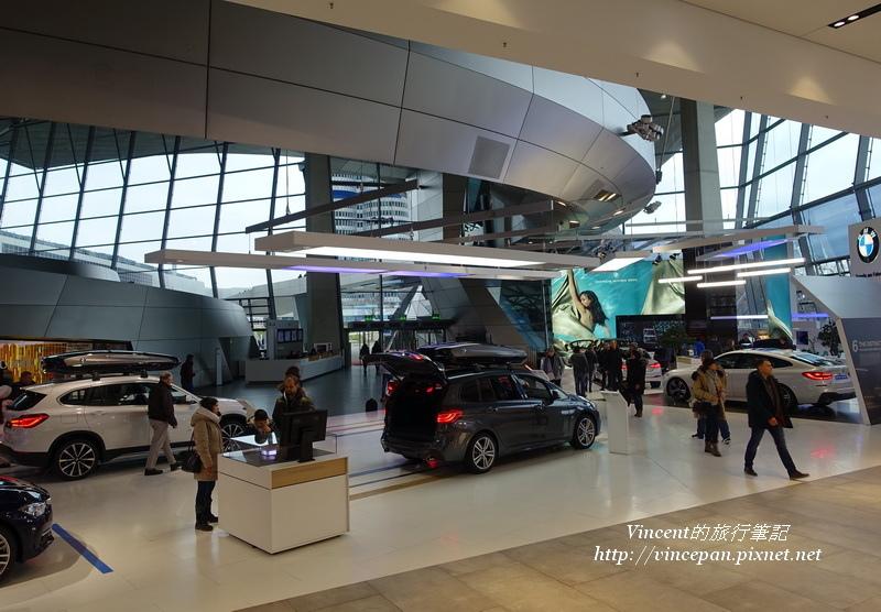 BMW Welt展場