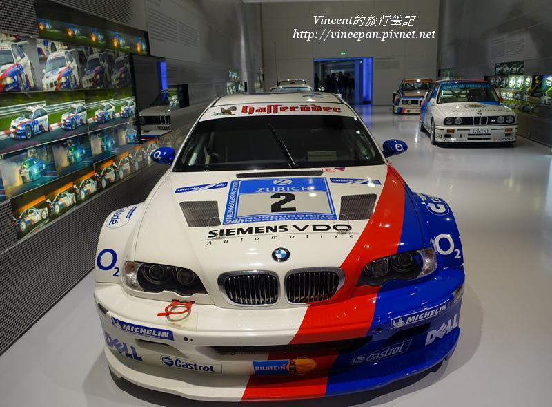BMW賽車展區