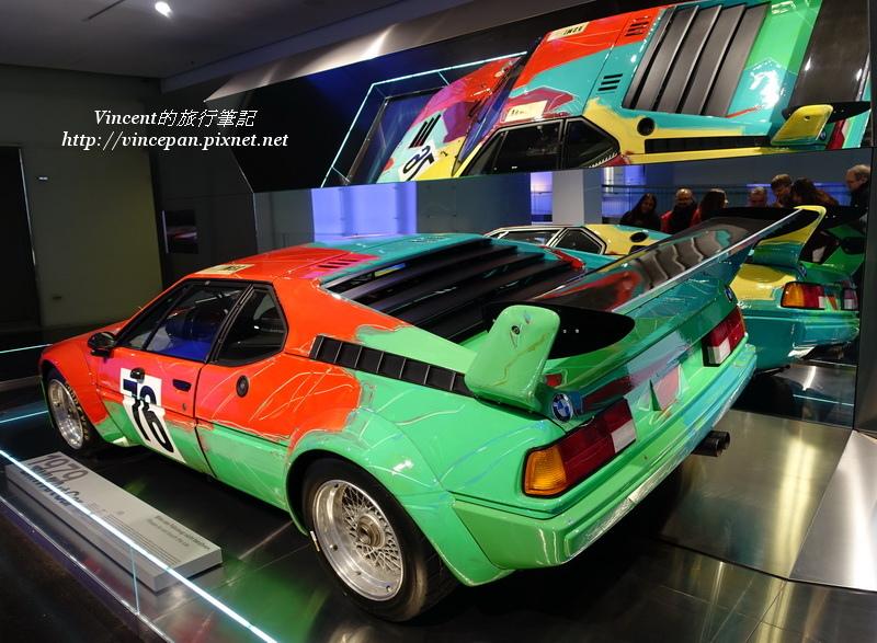 BMW M1藝術彩繪車