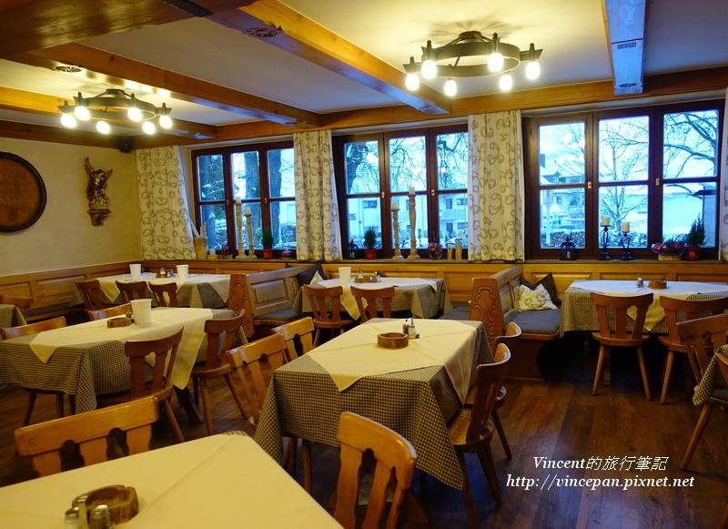 Hotel Gasthof Groß的德國餐廳