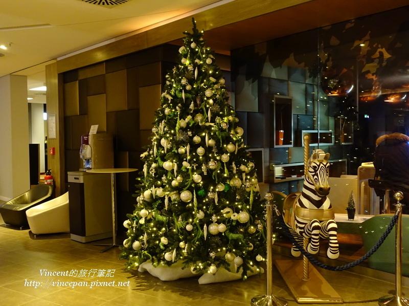 Novotel München Airport聖誕樹