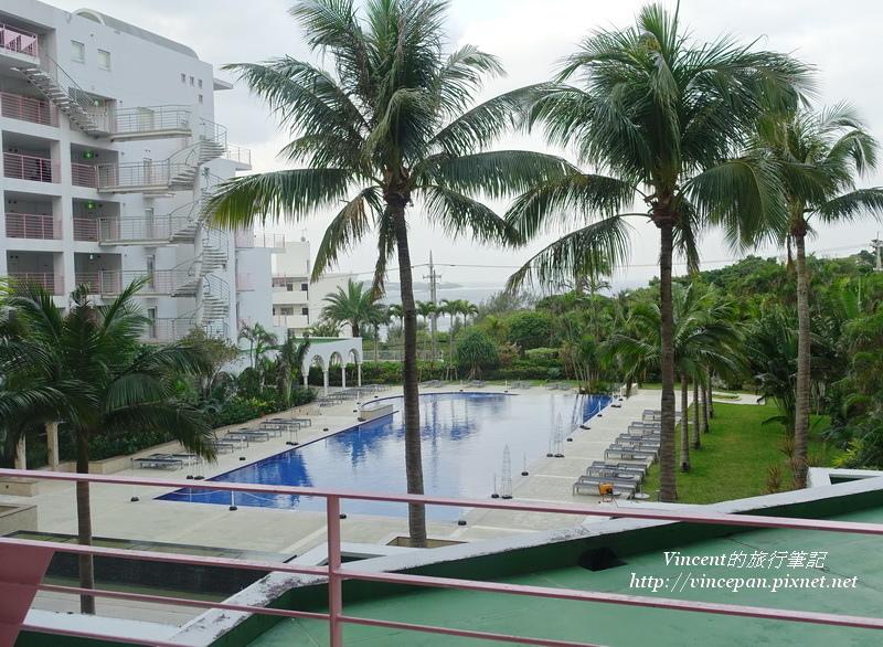 馬海納健康度假酒店 看到海!