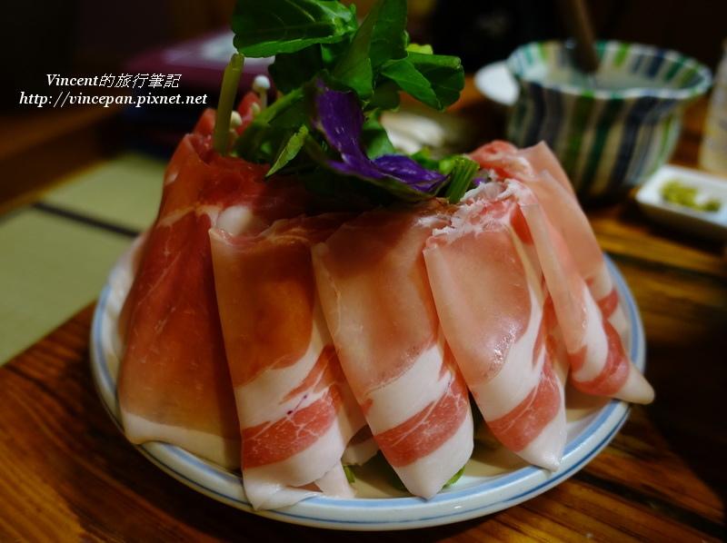 阿古豬肉片