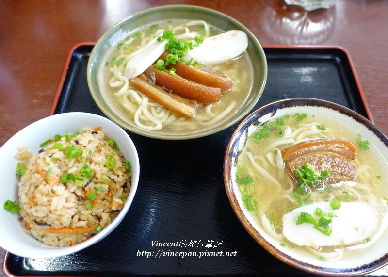 沖繩麵 午餐