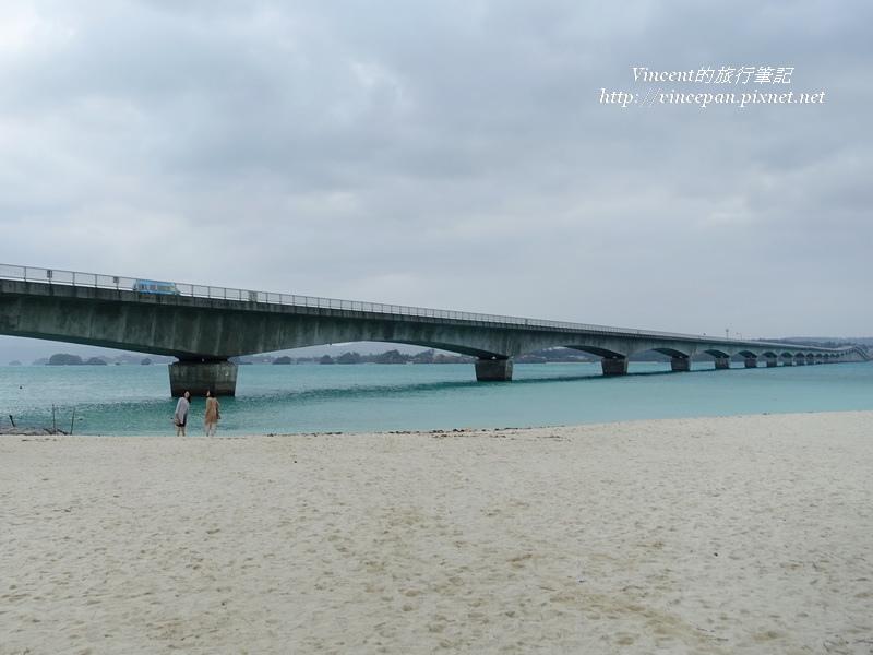 古宇利大橋 沙灘