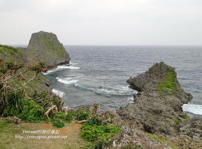 真榮田岬  海景