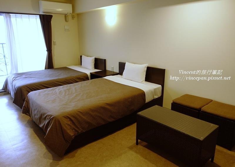 蒙巴北公寓式酒店房間