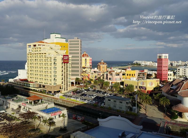 美國村與Vessel Hotel Campana  早上