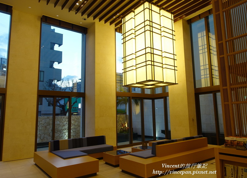 JR九州Blossom那霸酒店 lobby  座位