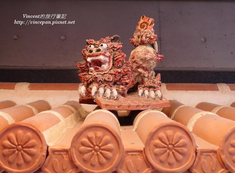 餐廳屋頂風獅爺