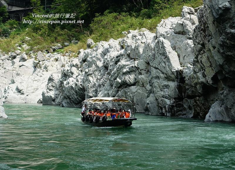 大歩危峡観光船