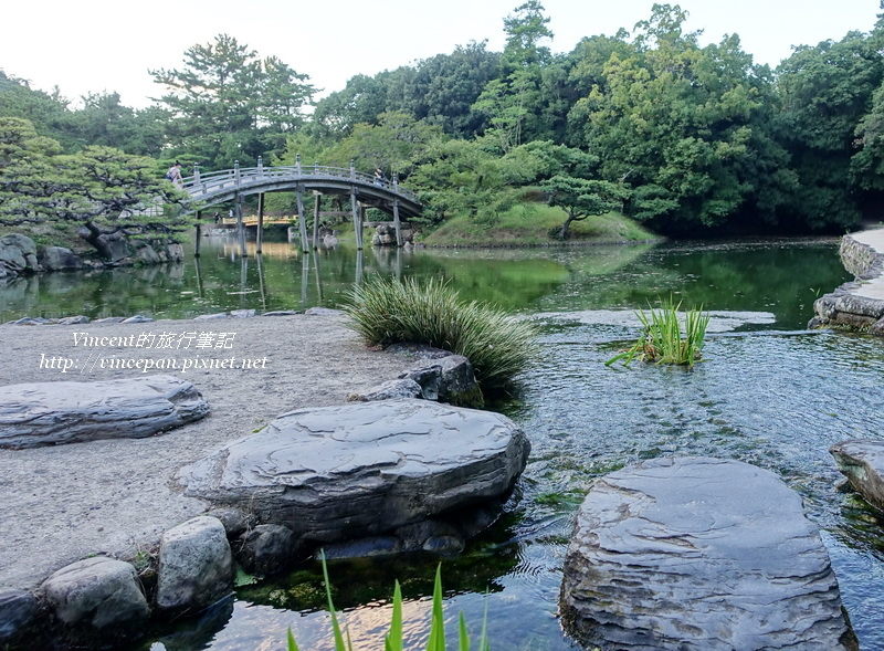 偃月橋 河水