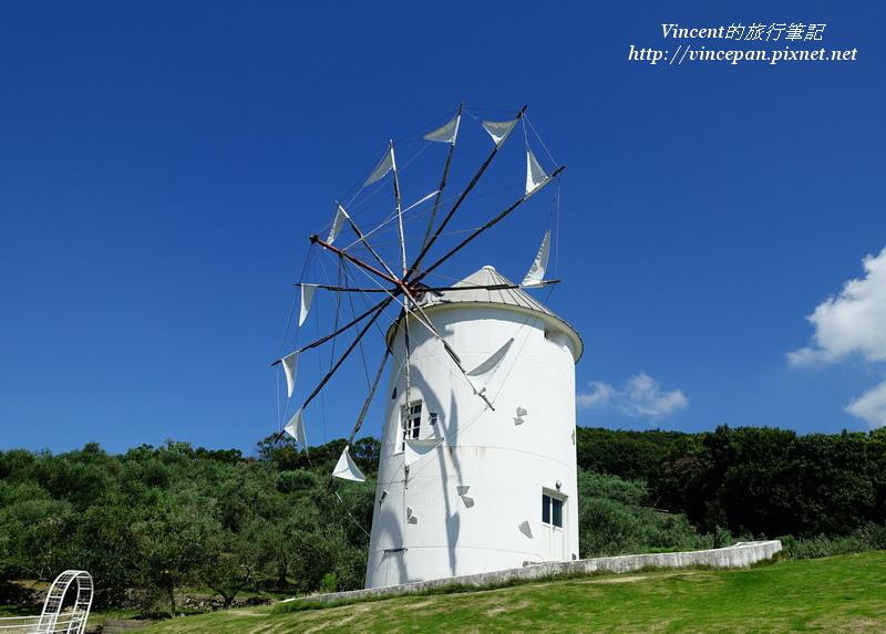 小豆島橄欖公園 希臘風車