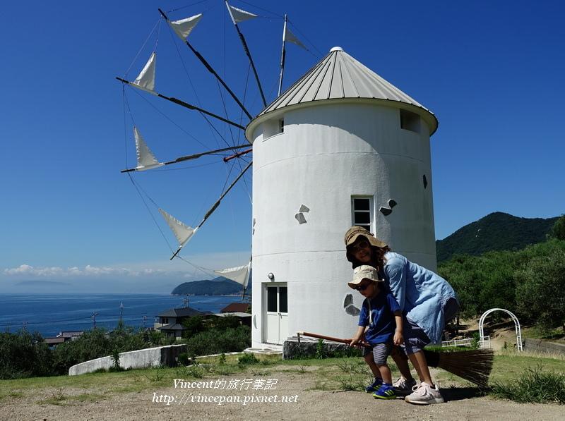 希臘風車 合照