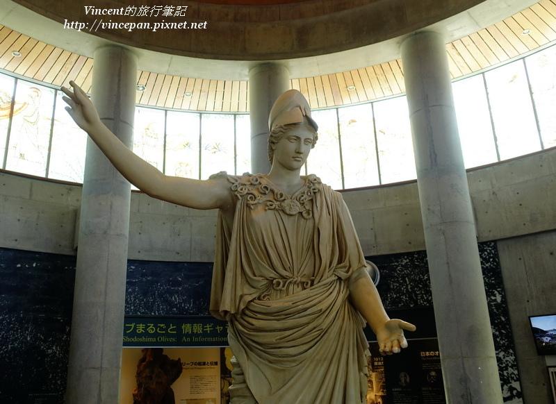 雅典娜雕像 大