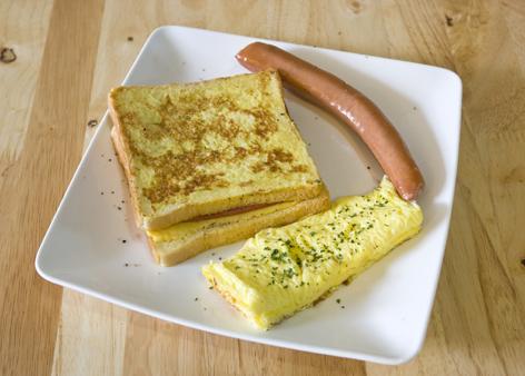 蒂兒咖啡台南全日早午餐-法國土司早餐