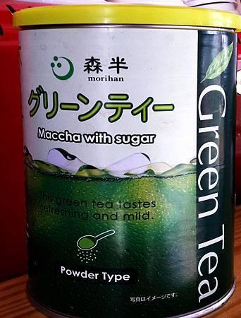 蒂兒咖啡抹茶類飲品所使用抹茶1