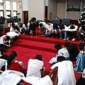 預演前禱告