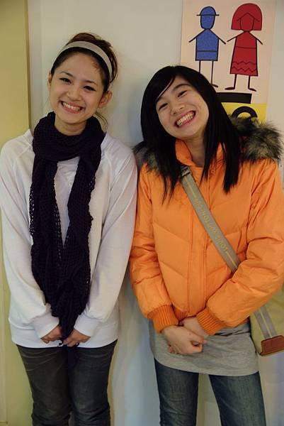 可愛漂亮的兩位姊妹
