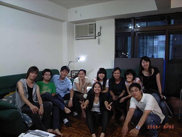 2009/8/30佳霖家小組