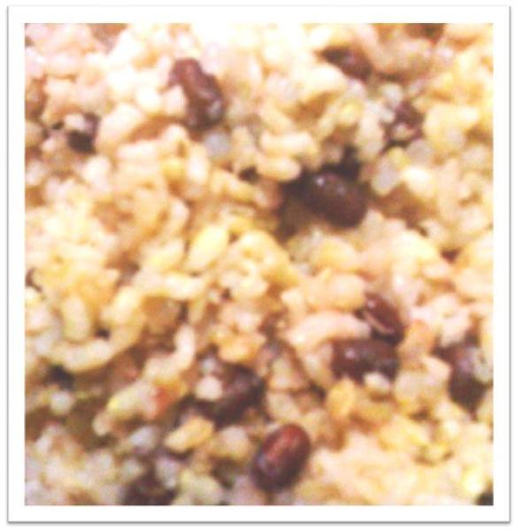 紅豆蒟蒻飯