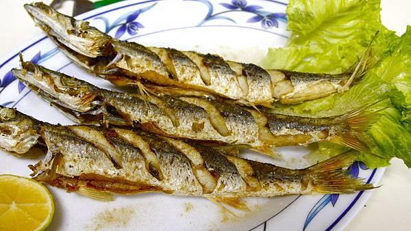龍門海鮮 ~烤魚(梭子魚)