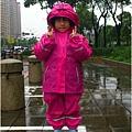 穿雨衣雨褲
