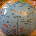 地球儀海洋