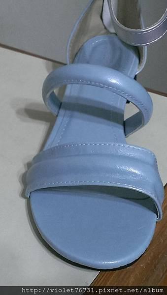 配色涼鞋8