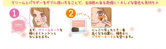 クリームチーク×パウダーチークス かわいさ無限大♥   コレクション   canmake.com キャンメイク.png