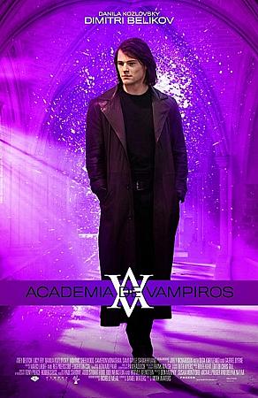Latin American promo poster featuring Dimitri Belikov
