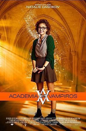 Latin promo poster featuring Natalie Dashkov