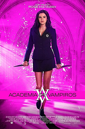 Latin American promo poster featuring Rose Hathaway
