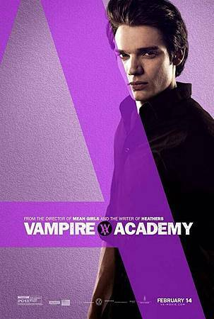 Vampire Academy Promo Poster of Christian Ozera