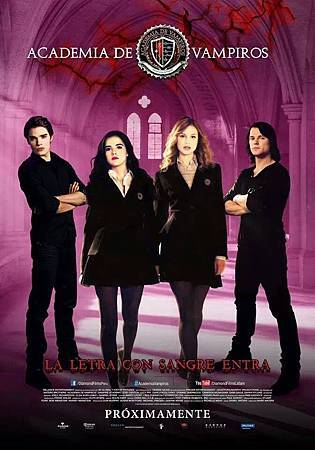 Vampire Academy poster from PERÚ