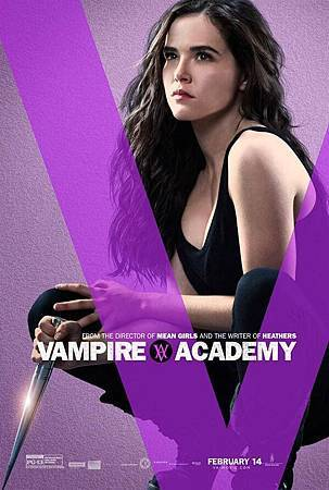 Vampire Academy Promo Poster of Rose Hathaway