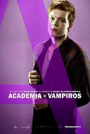 Vampire Academy Promo Poster of Mason Ashford
