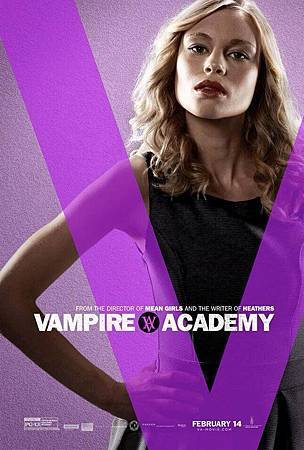 Vampire Academy Promo Poster of Lissa Dragomir