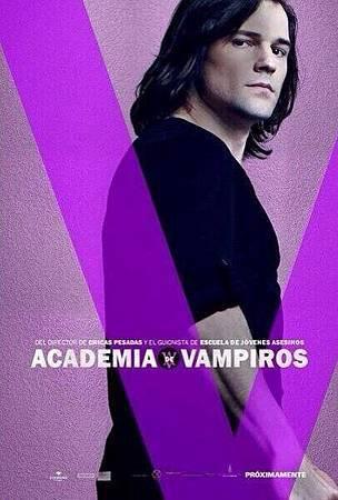 Vampire Academy Promo Poster of Dimitri Belikov
