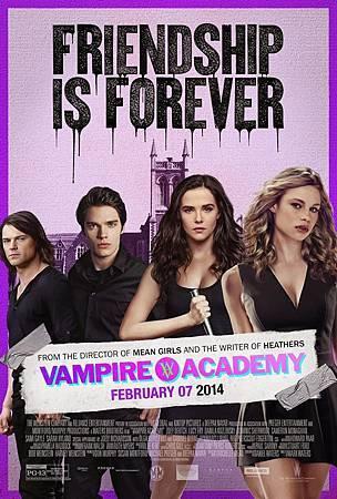 Vampire Academy USA Poster 2