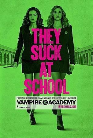 Vampire Academy USA Poster