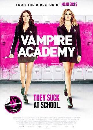 Vampire Academy UK Poster