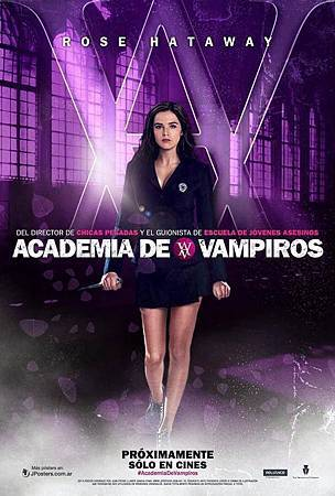 Spain promo poster featuring Rose Hathaway