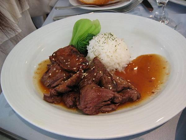 碳烤日式照燒牛肉片