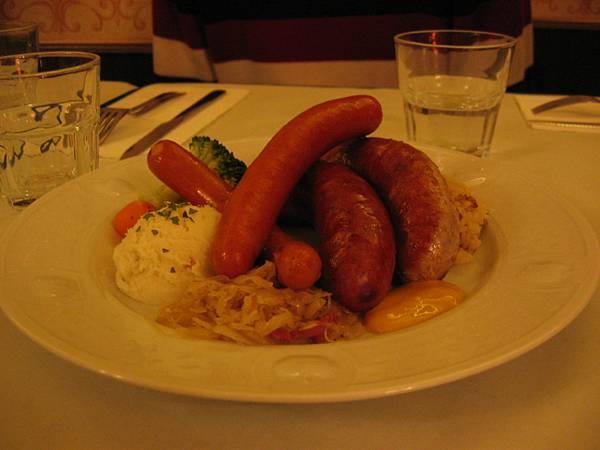 德國香腸餐(A)
